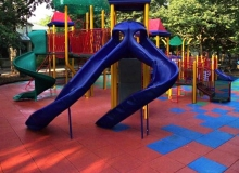 Playground Slide End